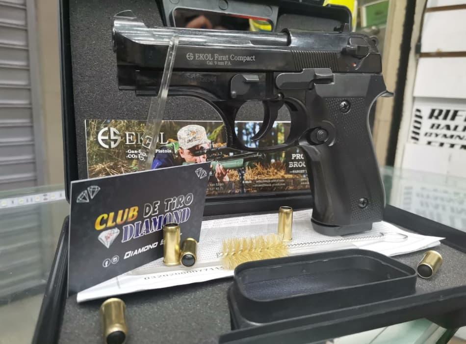 EKOL FIRAT COMPACT pistola traumática