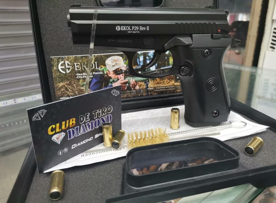 EKOL p29 pistola traumática