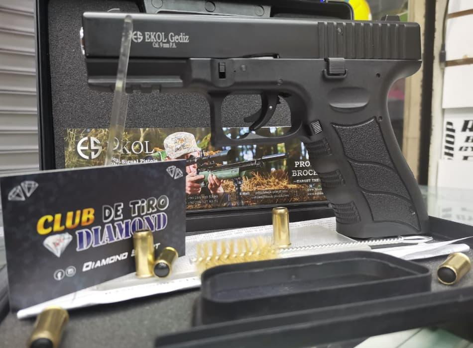 EKOL gediz pistola traumática