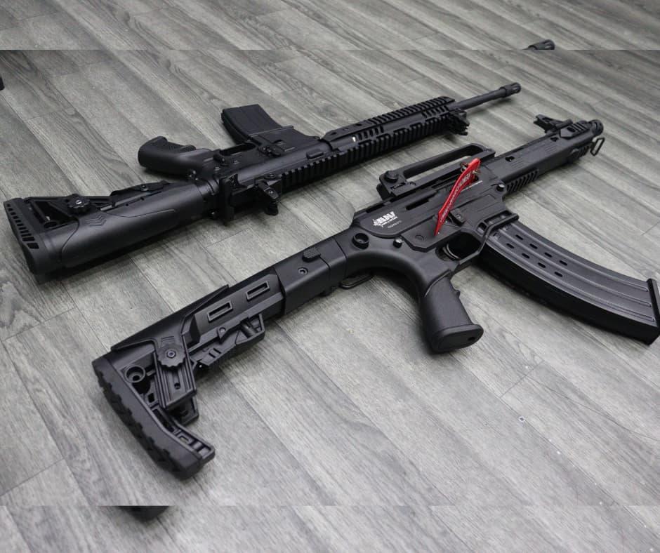 Fusil Traumático Cal. 9 Mm